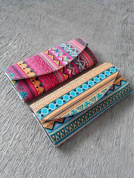 Navajo Clutch  #clutch #navajo #tribal #ethnic #canvas