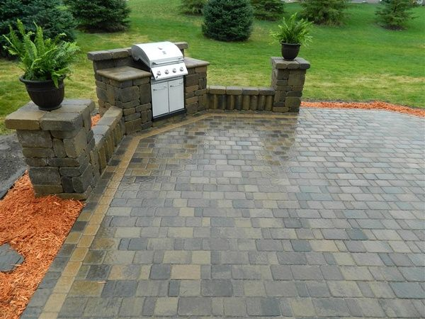 outdoor grill area backyard ideas - Patio Grill Ideas