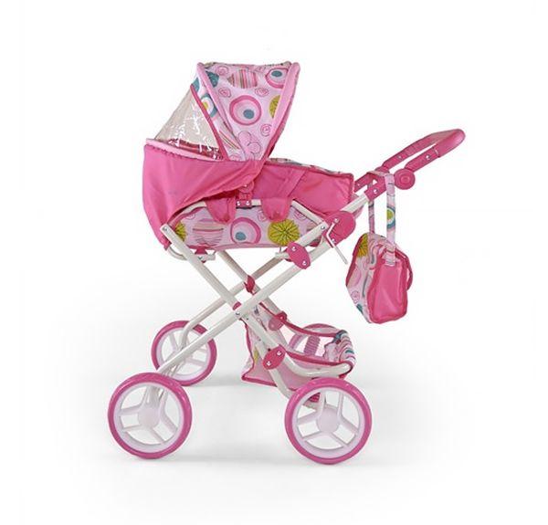 Wózek dla lalek to klasyczna zabawka dla każdej dziewczynki. #supermisiopl #Milly_Mally