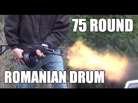 75 Round RPK Drum Bump Fire. Romanian Military Issue Drum bumpfire. 7.62x39 AK-47 AK47    Facebook  http://www.facebook.com/matthewjamesbeast  Twitter      http://www.twitter.com/mattv2099  Youtube    http://www.youtube.com/mattv2099    BEST COMEDY VIDEOS:  Red Jello Glock: http://youtu.be/8CvK70t1sjk  AK-47 Fruitecake: http://youtu.be/TEWAbN938Ro  600 r...