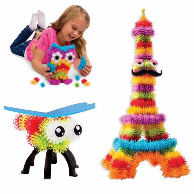sebuah permainan baru yang dapat mengasah kemampuan, ketangkasan, daya fikir dan kreativitas anak. Terdiri dari 370 magic ball yang dapat saling menempel tanpa menggunakan lem dengan warna yang berbeda-beda, 36 aksesorie seperti payung , kacamata, topi dll, serta 1pcs buku petunjuk pemakaian. Bunchems mega pack memungkinkan anda untuk membangun 36 kreasi 3D yang menakjubkan dan Bunchems dapat di susun, di rangkai, menjadi berbagai macam bentuk seperti: burung hantu, beruang, gurita, mobil…