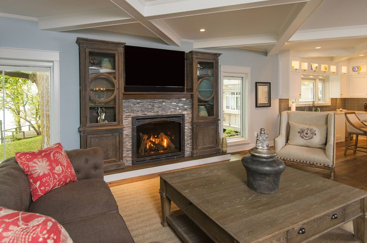 electric brown dark fireplace