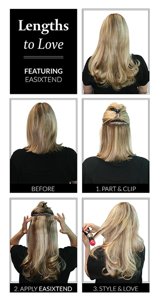 How to Apply easiXtend Shop #Easihair #Hairextensions http://www.pharmathera.com/wigs-hair-extensions-hairpieces-hats-chemotherapy-cancer/hair-extensions-human-hair-synthetic-canada#/hair-type-human-hair,hair-type-remy-human-hair-a33-vHuman%20Hair,Remy%20Human%20Hair/sort=p.sort_order/order=ASC/limit=100