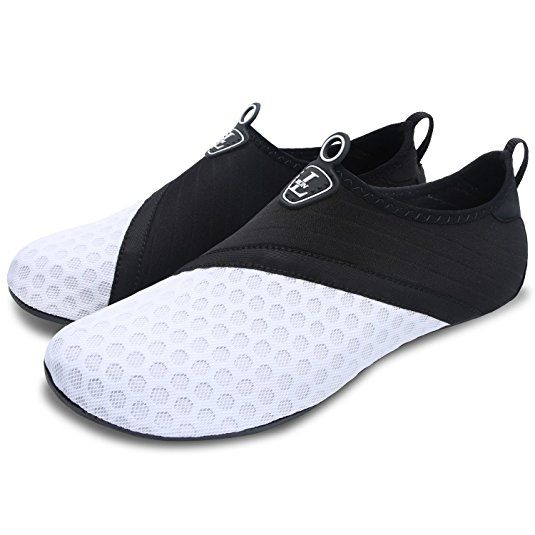 791509c1370a1 L-RUN Unisex Water Shoes Barefoot Skin Shoes for Run Dive Surf Swim ...