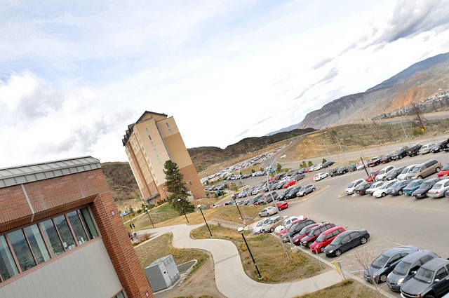 Breaking the parking rules can lead to a ticket, via Flickr.  Thompson Rivers University in Kamloops, BC, Canada