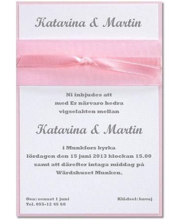Pink Dream, en dröm i rosa och vitt! #calligraphenwedding #calligraphendetails #inbjudningskort #invitations #pink #bröllop #wedding #bröllopskort #inbjudan