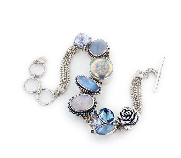 Slide Charms For Bracelets: Slide Charm Bracelet From Lori Bonn