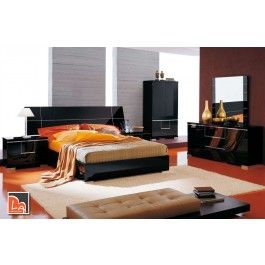 bedroom sets black. Siena  Made in Italy Modern Black Bedroom Set Best 25 bedroom sets ideas on Pinterest furniture