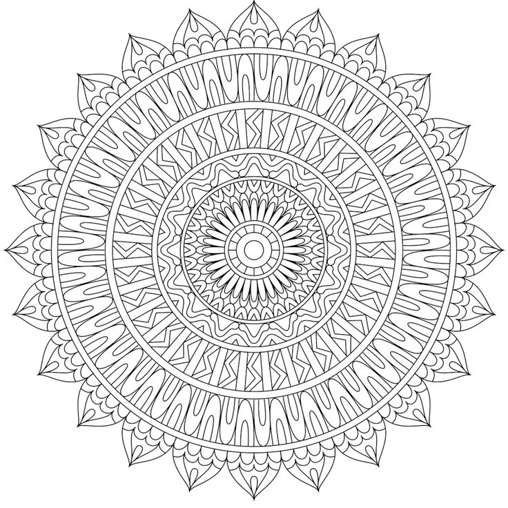 Twisted Straight - a free coloring page. Many more available…