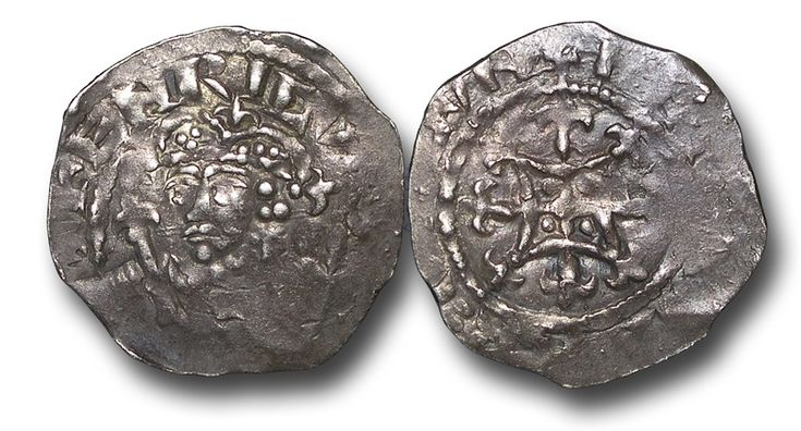 Henry I of England (c.1068-1135) Silver penny, quadrilateral on Cross Fleury type. London mint (1125-1135.