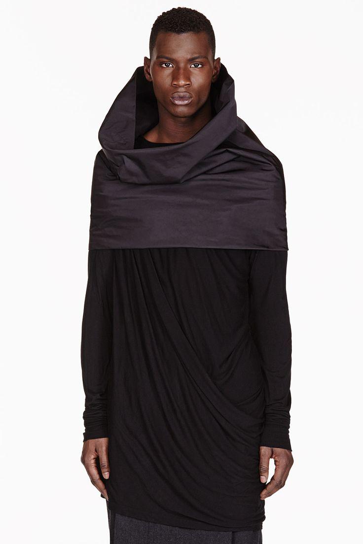 Rick Owens tube scarf