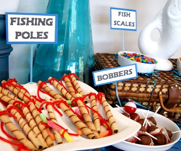 25 best ideas about fishing party themes on pinterest for Fishing themed party supplies