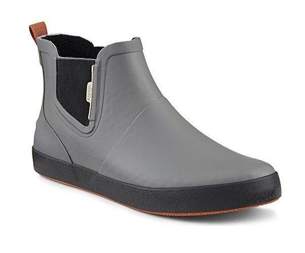 Sperry Top-Sider Men's Flex Deck Chelsea Boots Grey