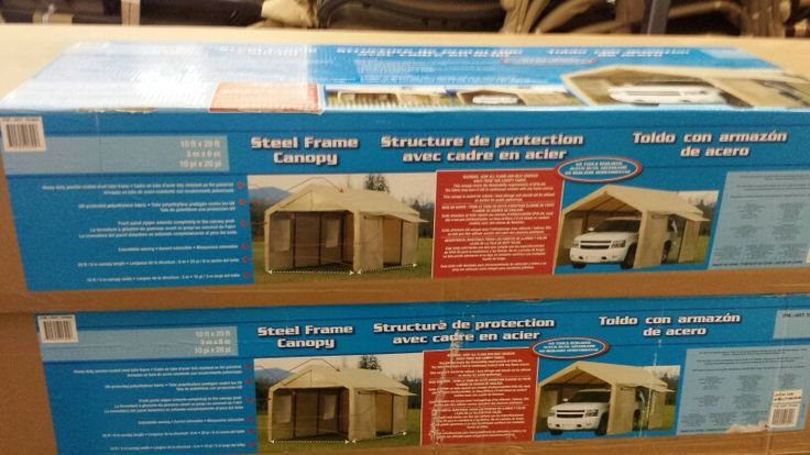 237 99 10 X20 Steel Frame Canopy Costco Things I
