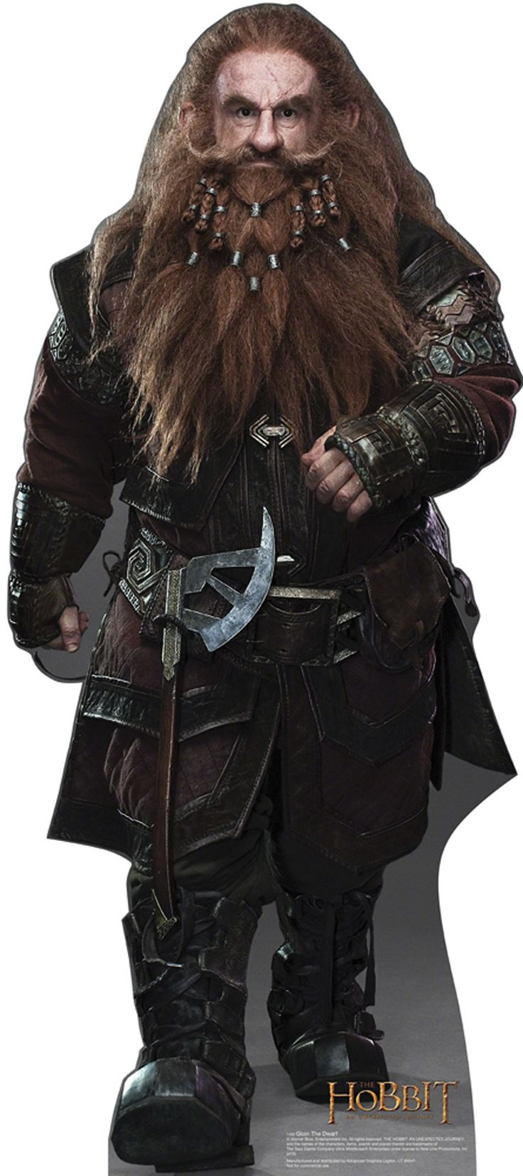 Hobbit gmail theme - Gloin The Dwarf The Hobbit Cardboard Standup
