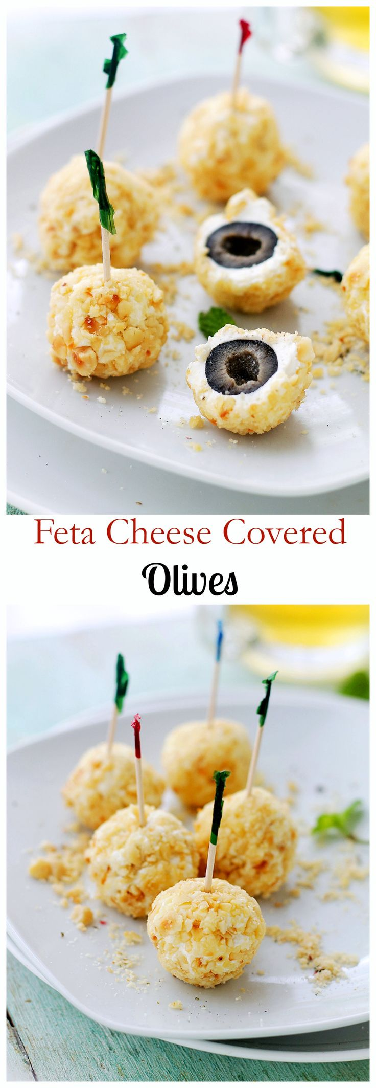 Feta Cheese-Covered Olives + Giveaway