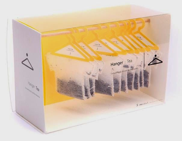 Hanger Tea - The 33 Most Creative Product Packages From Around The World.