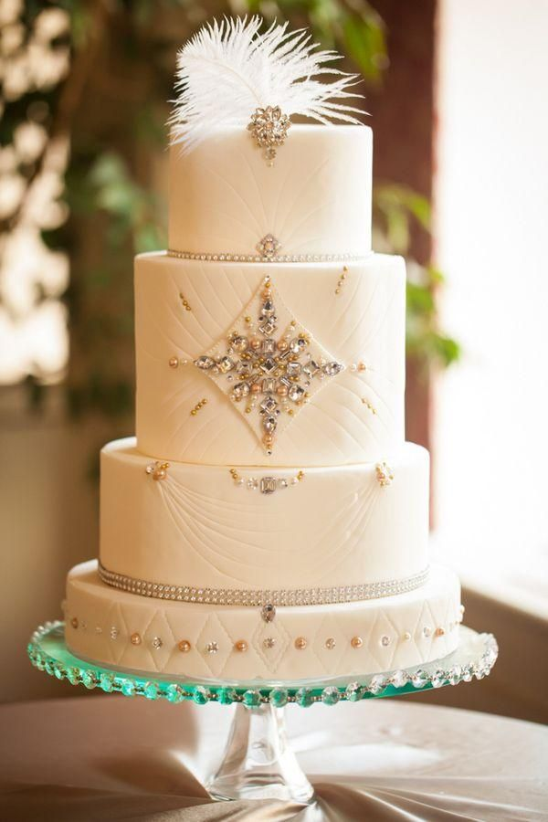 322 best Art Deco Cakes images on Pinterest | Cake art, Cake wedding ...