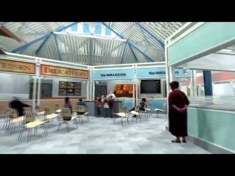 ▶ Pontypool Market Flythrough - YouTube.