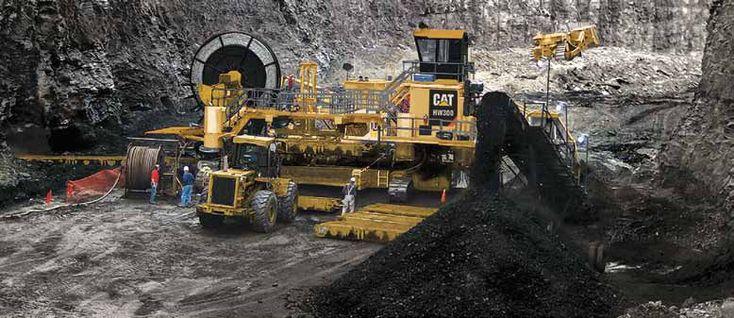 Mining machine \/ highwall mining - HW300 - Caterpillar Global - dragline operator sample resume