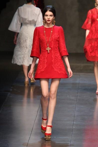 Dolce & Gabbana | Milão | Inverno 2014 - Vogue | Milão