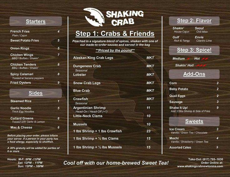 Shaking Crab restaurant, Adams Street, Newton
