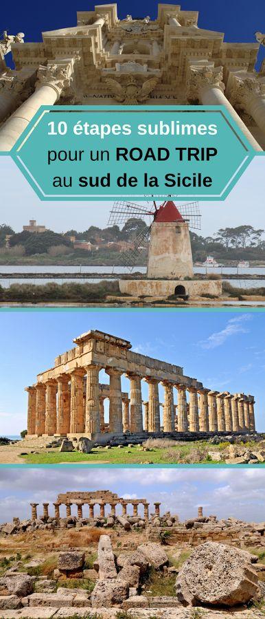 La côte sud de la Sicile est l'occasion d'une formidable incursion dans l'histoire millénaire de l'île. Votre trajet vous conduira de Marsala à Syracuse, via Sélinonte, Agrigente, la villa romaine du Casale, la cité baroque de Raguse... #Italie #Sicile #Syracuse #Agrigente