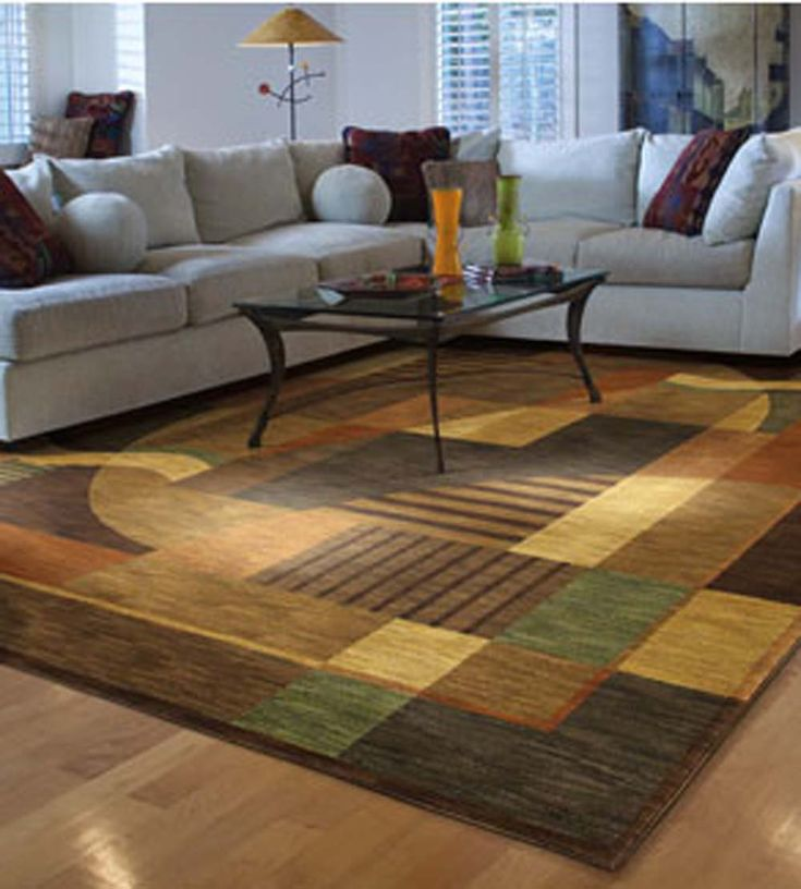 Colorful Modern Contemporary Area Rug