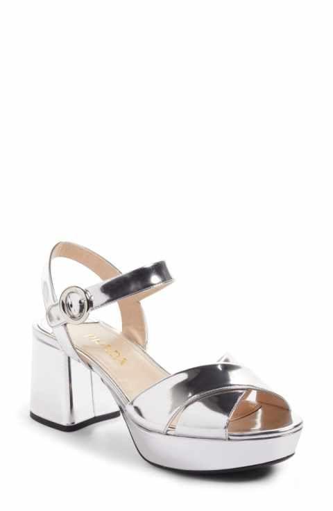 b7dc5fa049d Prada Strappy Platform Sandal (Women)