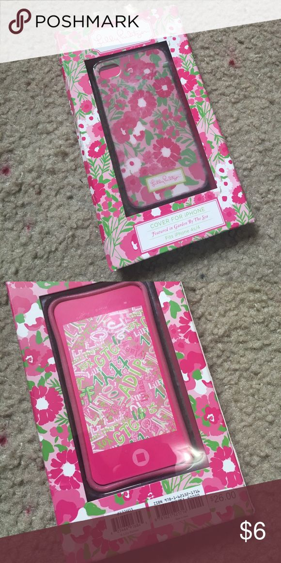 🆕 Lilly Pulitzer iPhone 4/4s case! New in the box! Still has price tag on it! For anybody with an older phone who still loves Lilly! Comment below if you have any questions! Lilly Pulitzer Accessories Phone Cases
