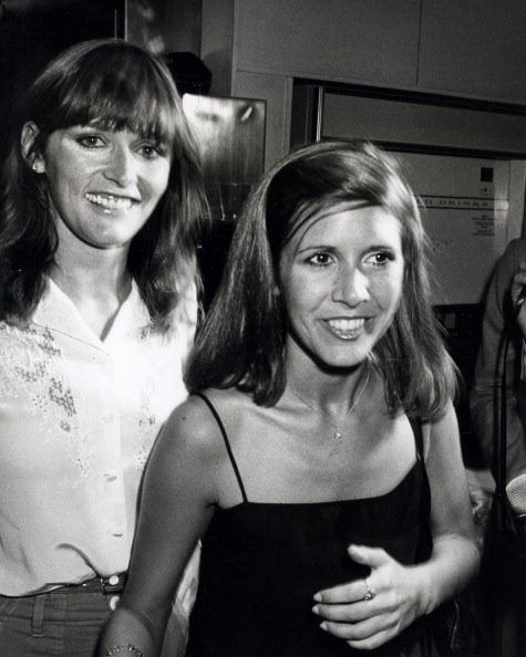 carrie fisher young | Carrie Fisher and Margot Kidder