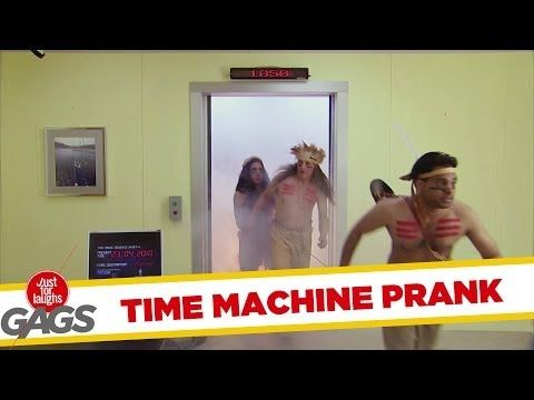 "Time Machine Prank - http://positivelifemagazine.com/time-machine-prank/ http://img.youtube.com/vi/3f5UJNn8UAs/0.jpg   http://gags.justforlaughs.com This mad scientist is already in the past, he's in 2010 and he invented a time machine that will bring him even further in the past … source    Please follow and like us:  			var addthis_config =  				 url: """", 				 title: """""