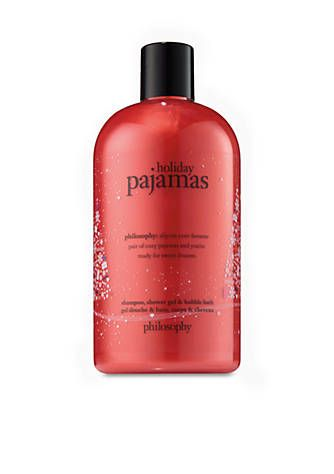 Love the name....philosophy shower gel holiday pajamas