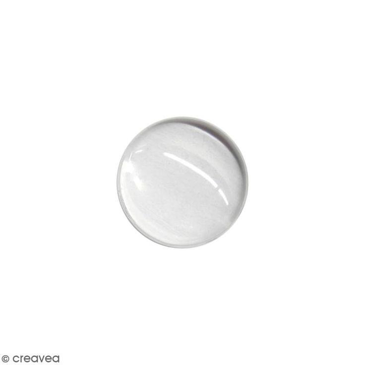 Compra nuestros productos a precios mini Cabujón de vidrio redondo - Transparente - 18 mm - Entrega rápida, gratuita a partir de 89 € !