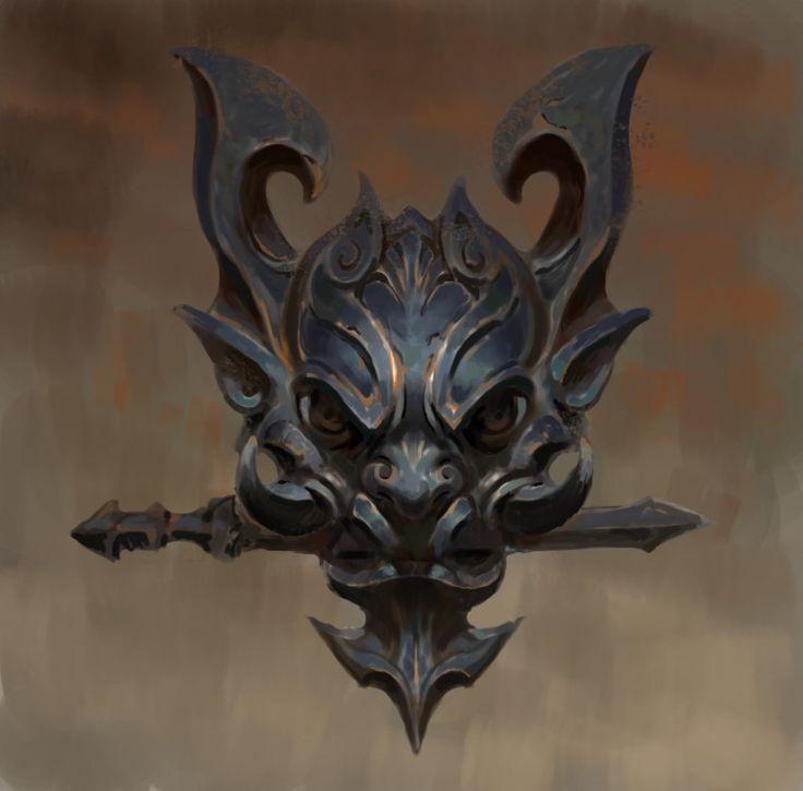 Metal painting practice, CG - D on ArtStation at https://www.artstation.com/artwork/vYLQd