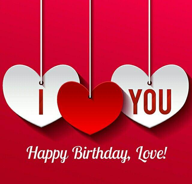 I ❤ You Happy birthday