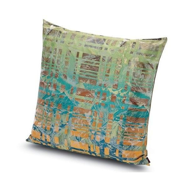 Missoni Home Rayong Pillow 24X24 ($520) ❤ liked on Polyvore featuring home, home decor, throw pillows, textured throw pillows and missoni home