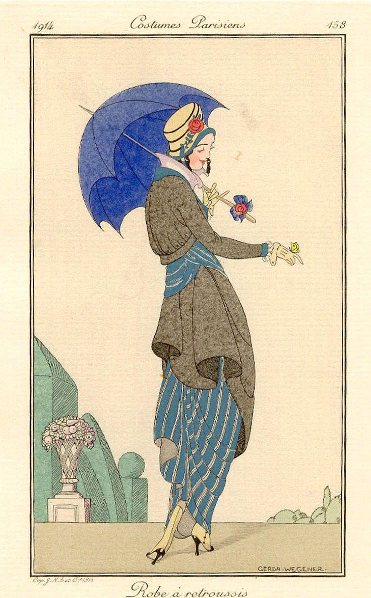 17 best images about gerda wegener lili elbe on for Art deco illustration