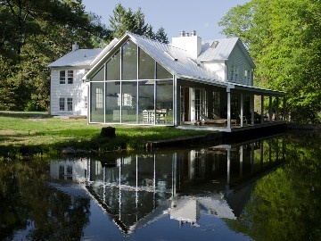 Eldred farmhouse rental - The 1820 manor home has been fully renovated and featured in Dwell magazine.