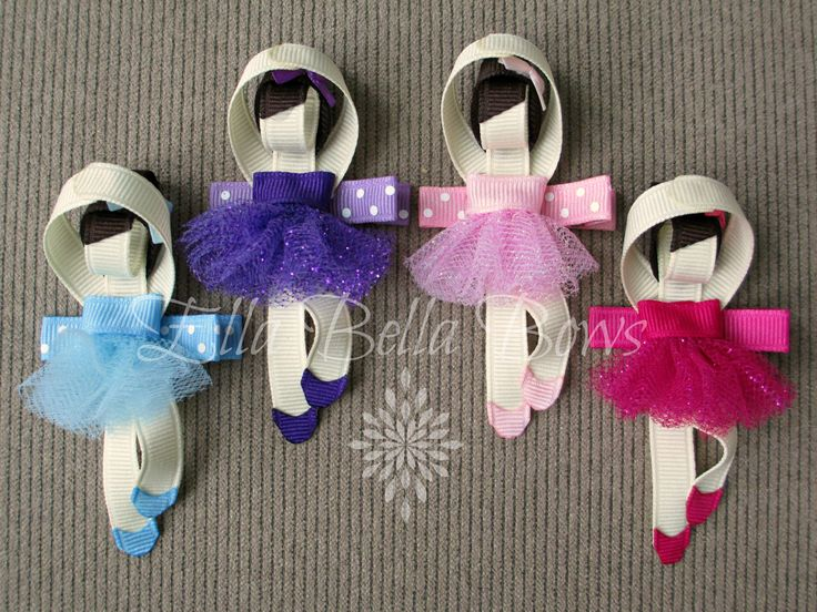 """Can be made with glitter tulle or regular...  Measure about 3.5"""" tall."""