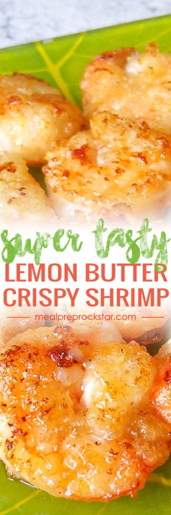 This super delicious pan-fried crispy lemon butter shrimp is ready to eat in 15 minutes! The secret to it's crispiness is taro powder. Gives the shrimp a crunch without the deep frying.