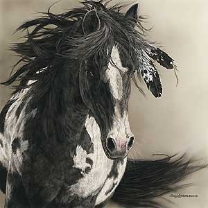 With Freedom for All - Judy Larson - World-Wide-Art.com - $225.00 #JudyLarson #Horses