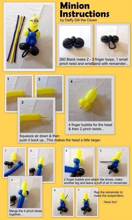 Balloon Minion Bracelet
