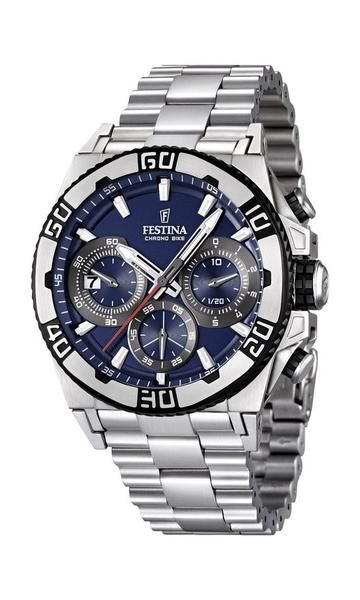 100% Authentic with 2-Year Festina Backed Warranty Included. Item Festina Men's Watch Model # F16658/2 Collection Chrono Bike - TOUR DE FRANCE Case Silver-Tone Stainless Steel Case Back Screw-Down Sta