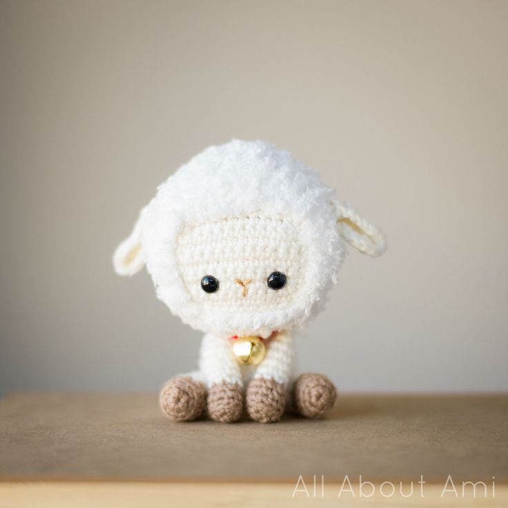 Chinese New Year Sheep/Lamb Full step-by-step blog post & free pattern available!