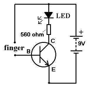 Simple ‪#‎Transistor‬ Amplifier circuit is a semiconductor