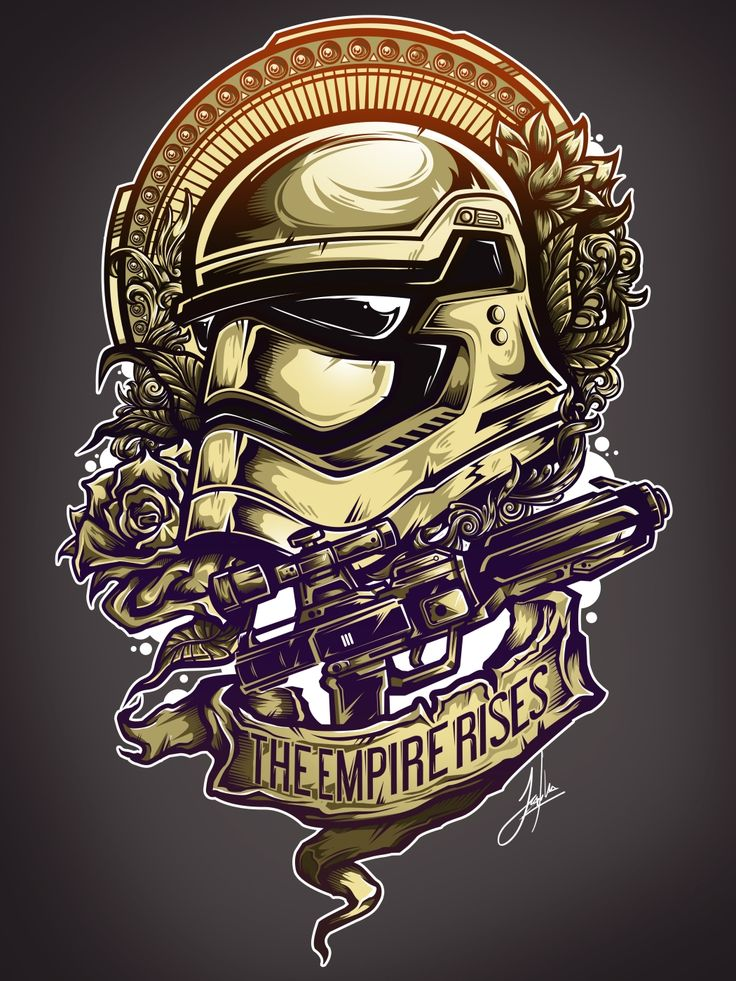The Empire Rises - Created by Juan Manuel Orozco Available for sale on DesignByHumans, TeePublic, or RedBubble. You can also follow him on Tumblr or Twitter.