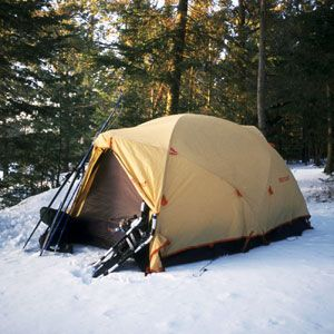 Winter camping can be fun, but it can also be just plain cold. Plan ahead to make your cold-weather camping trip comfortable and memorable.