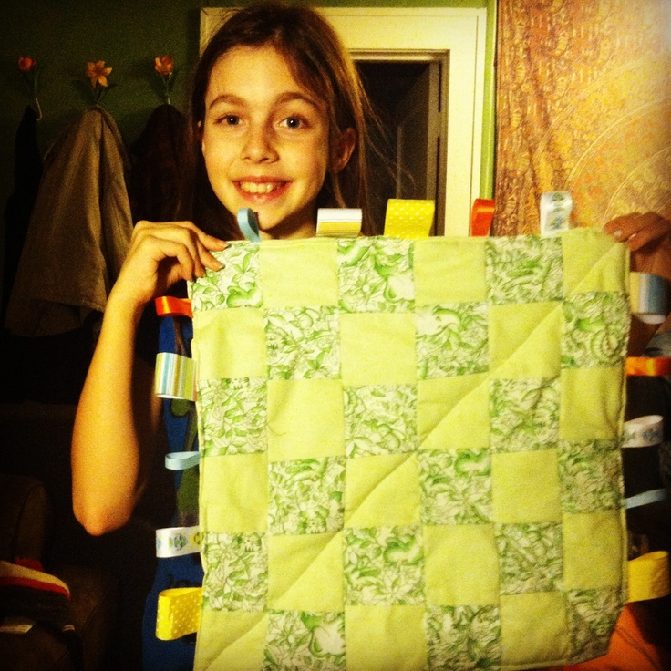 Violet's first sewing machine project