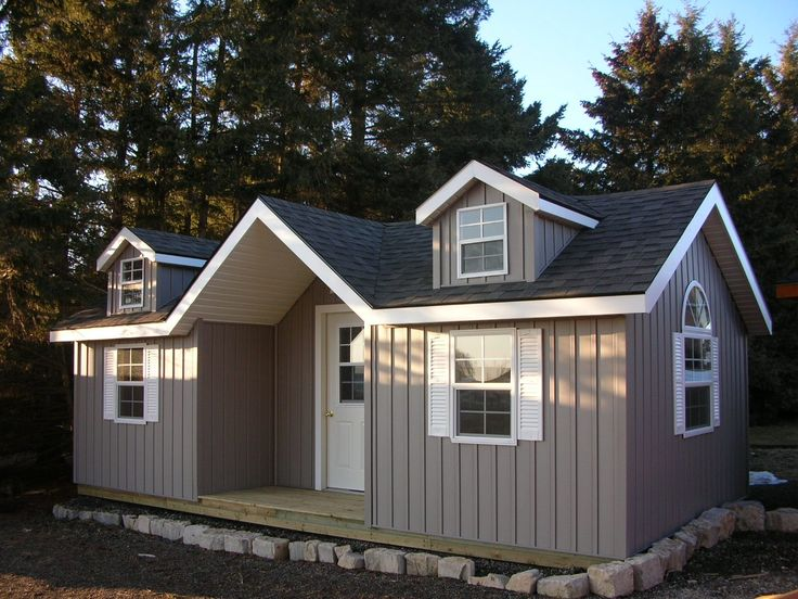 Factory Made Prefabricated Portable Bunkies, Cabins, Cottages and Custom Homes Factory Made Canadian prefabricated portable cabins, cottages, bunkies. Perfect for camp-grounds parks, anywhere an i…